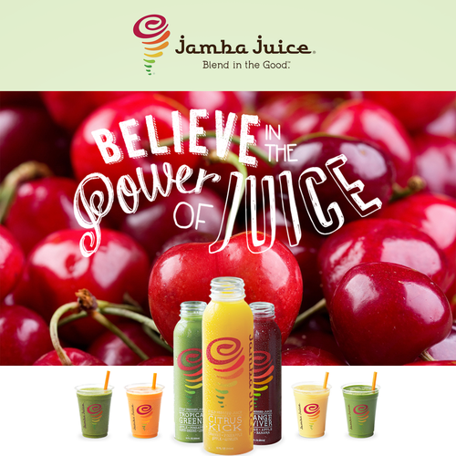Create an ad for Jamba Juice Design by Victor Damasceno
