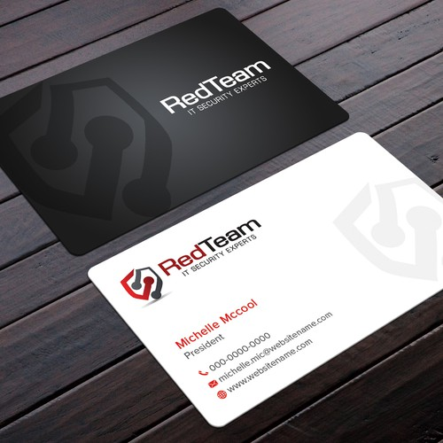 Create A Business Cards Letterhead And Envelopes For Cyber Security