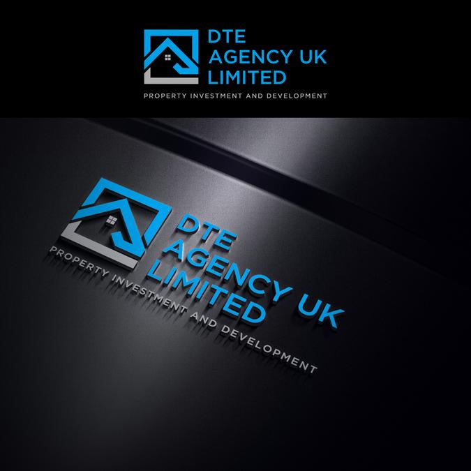 Investment Property Development : Logo for new property investment development and estate