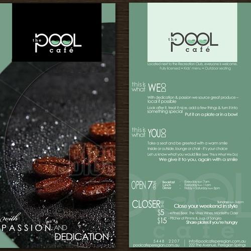 The Pool Cafe, help launch this business Diseño de Eme_luha