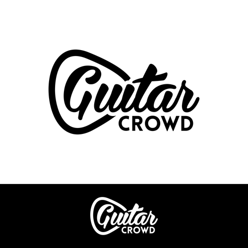 Create Logo Identity For Crowdsource Driven Guitar