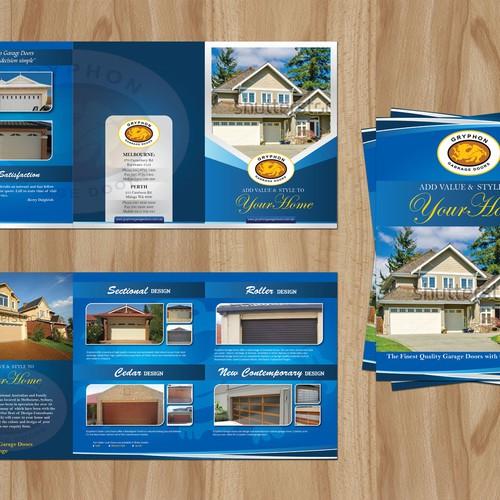 Create The Next Brochure Design For Gryphon Garage Doors