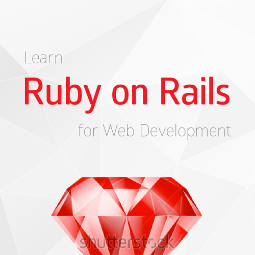 Book Cover Design Jobs Uk : Computer programming book about ruby on rails web