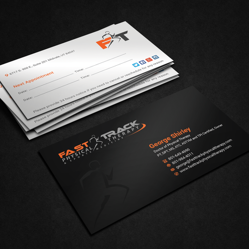 Physical therapy business card design for sports medicine related entries from this contest colourmoves Gallery