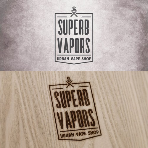 Trendy modern logo for urban vape shop  | Logo design contest