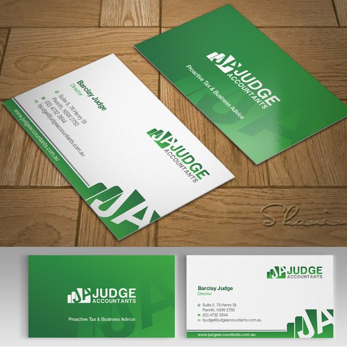 Professional Business Card For Modern