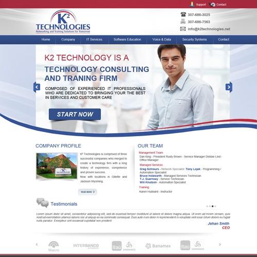 Runner-up design by webexpert
