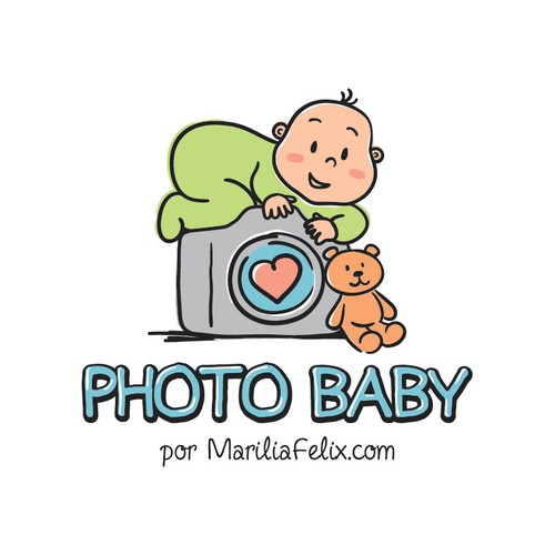 Vintage Clean Logo Is Needed For A Baby Photo Studio Design por Gabriela Gaug