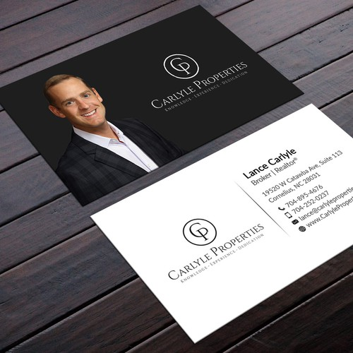 Create A Fresh Business Card For A Luxury Real Estate Firm