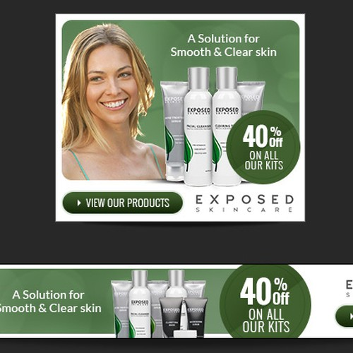 Skin Care Banner Ads Banner Ad Contest 99designs