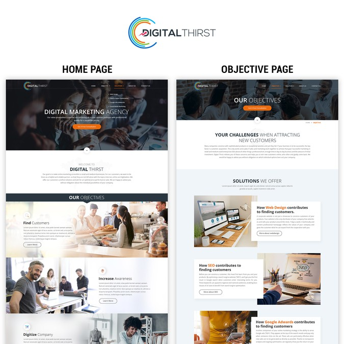 Create An Outstanding Marketing Agency Website Wordpress Theme