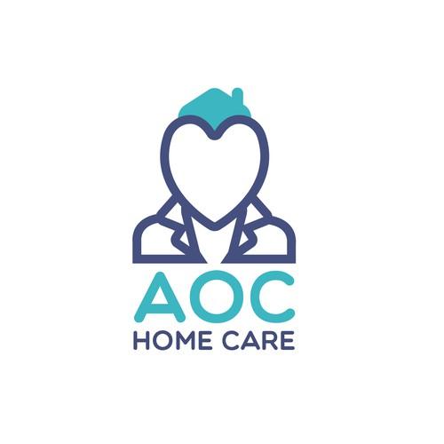 Aoc Home Care Logo Logo Design Contest