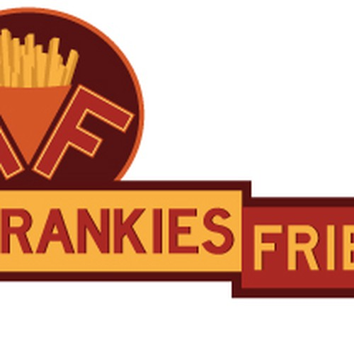 logo for Frankies Fries | Logo design contest