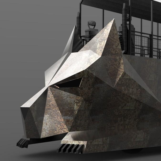 Winnend ontwerp van Vladimir Nikolic