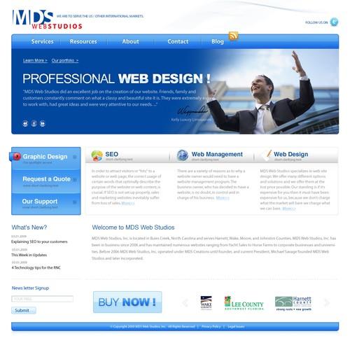Design finalista por design4www