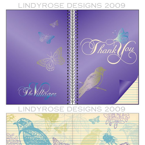 Runner-up design by Lindyrose Designs