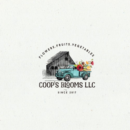 Hobby Farm specializing in cut flowers needs a logo Design by Cadina