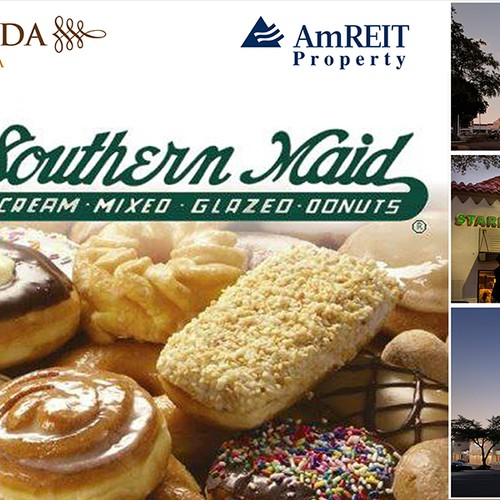 Create an ad for Southern Maid Donuts Diseño de imurs