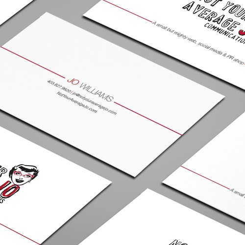 Create a cheeky, fun business card Design by Zetka