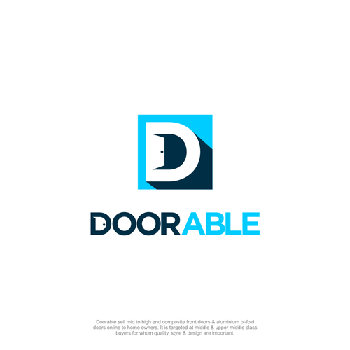 Doorable need a Memorable & Reassuring Logo Design por Anbu_designs
