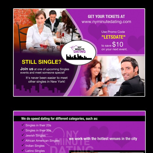 ny minute dating coupon code