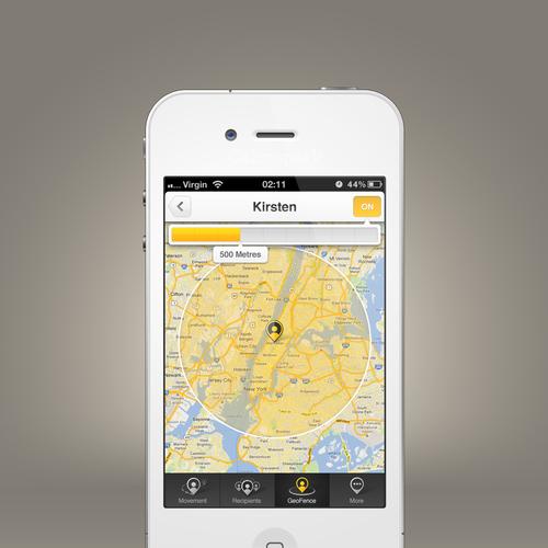 Diseño finalista de CalmSpark App Design