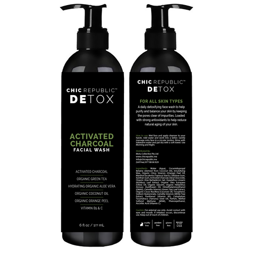 Cool Edgy Label for Face Wash Ontwerp door not here anymore
