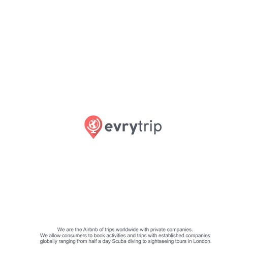 New And Exciting Airbnb For Activites Evrytrip Logo Design Contest