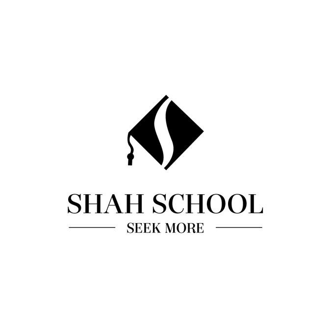 Classroom Logo Design : Shah school virtual classroom logo concours création de