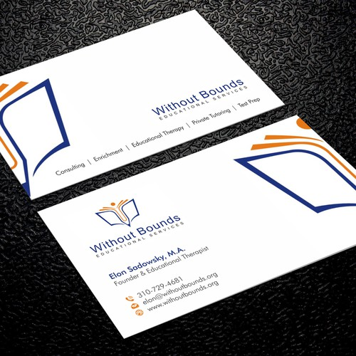 Business cards for without bounds business card contest runner up design by xclusive16 reheart