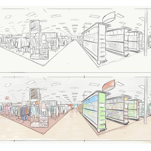 Zweitplatziertes Design von Abrahamnaji