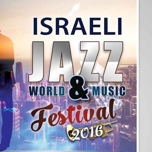 Israeli Jazz and World Music Festival Design by art_satyajit