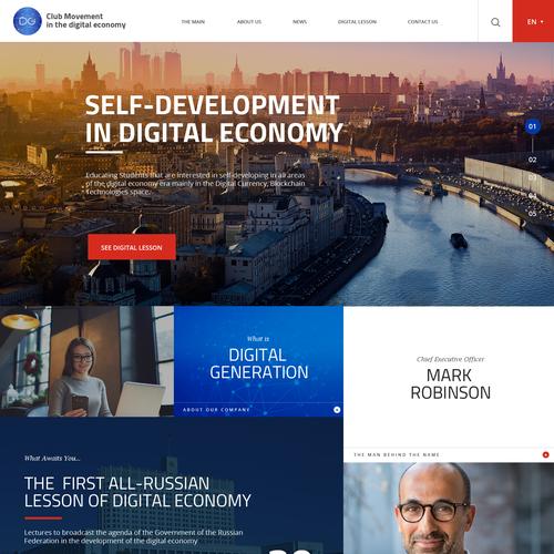 Zweitplatziertes Design von SAI Web