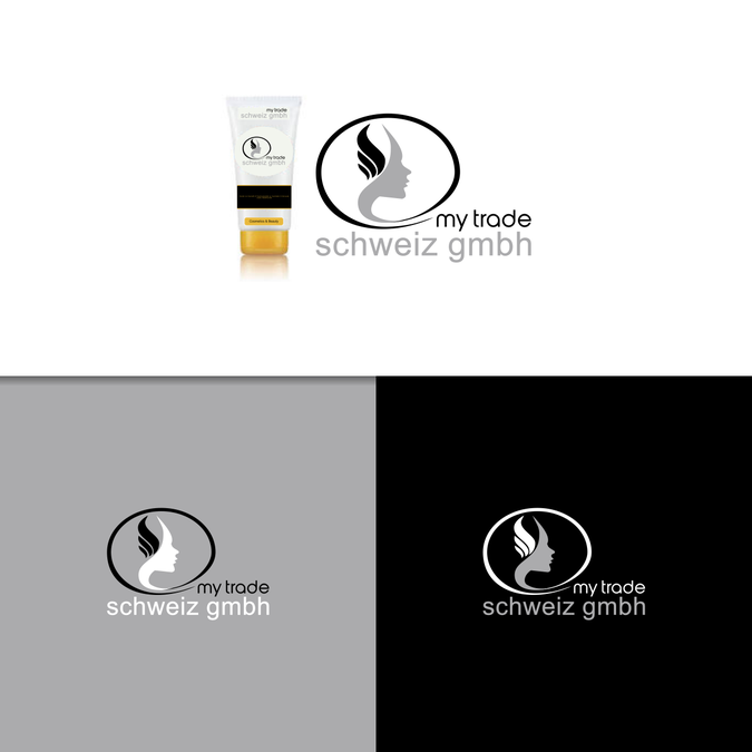 My trade schweiz gmbh logo design wettbewerb for Burodesign gmbh logo