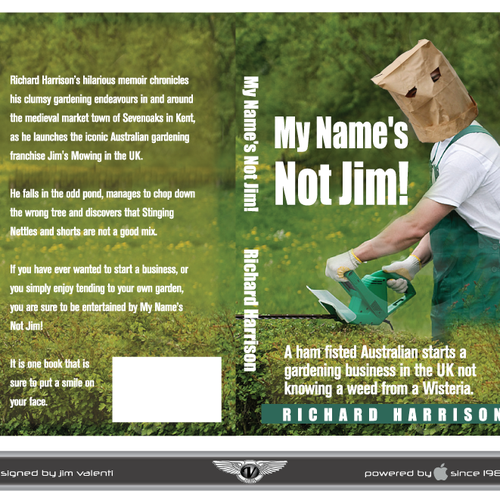 Help My Name S Not Jim With A New Book Or Magazine Cover Book