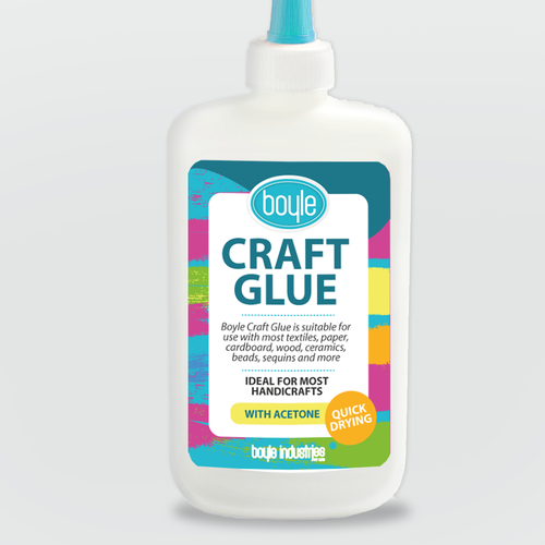 30 Year Old Craft Glue Needs A Refreshingly Attractive Lable To