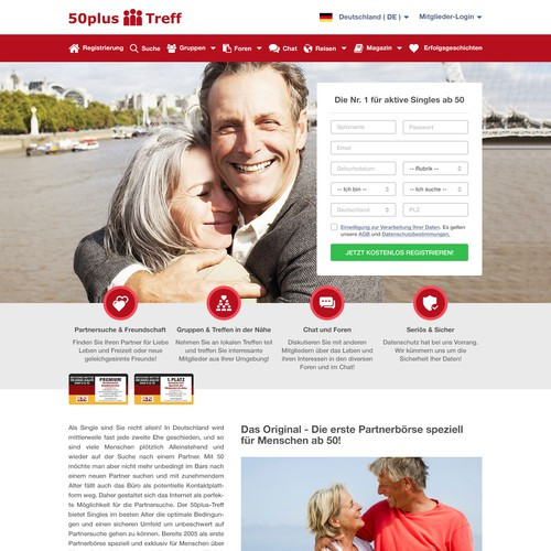 50plus partnersuche