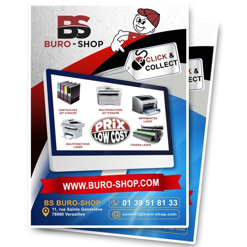 Flyer site web concours carte postale for Buro website