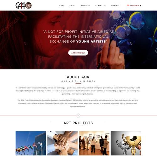 Zweitplatziertes Design von webdesignunited
