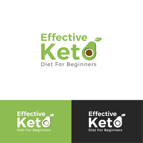 Distinctive Logo For Effective Keto Diet For Beginners Facebook