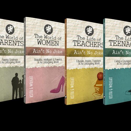 """""""Ain't No Joke"""" Book Series Cover Design Ontwerp door 88dsgnr"""