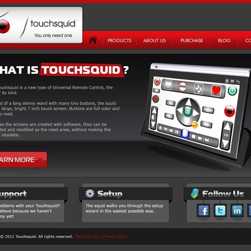 Runner-up design by webdsolutions