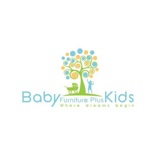 Baby furniture plus kids needs a new logo | Logo design contest
