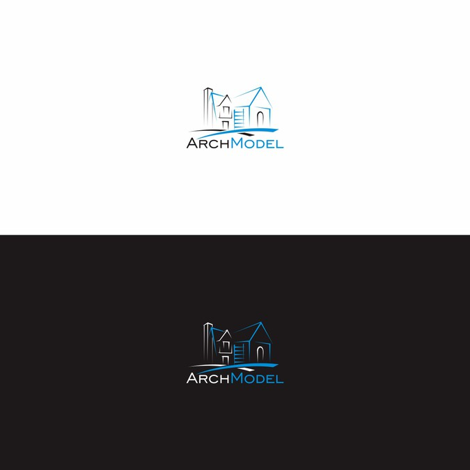 Design a logo for ArchModel - 3D architectural modeling service