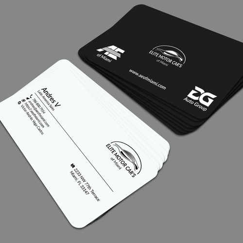 car dealership business cards needed business card contest