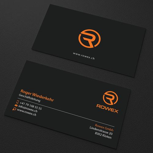 Designs Erstelle Eine Aussagekräftige Visitenkarte Für