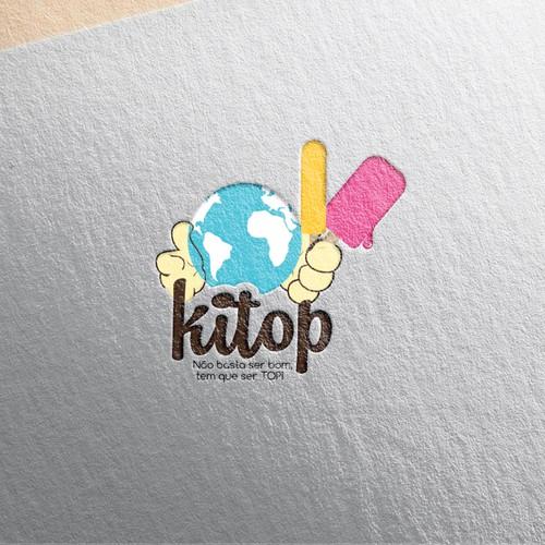 Fabrica de Sorvete/Picole e Paleta criação de nova logo (Desafio) / icecream Design por Ani12