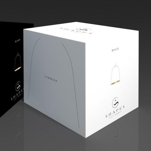 Create packinging for high end designer lighting range for High end designer lighting