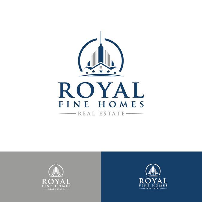 Logo Design For Royal Fine Homes Logo Design Contest
