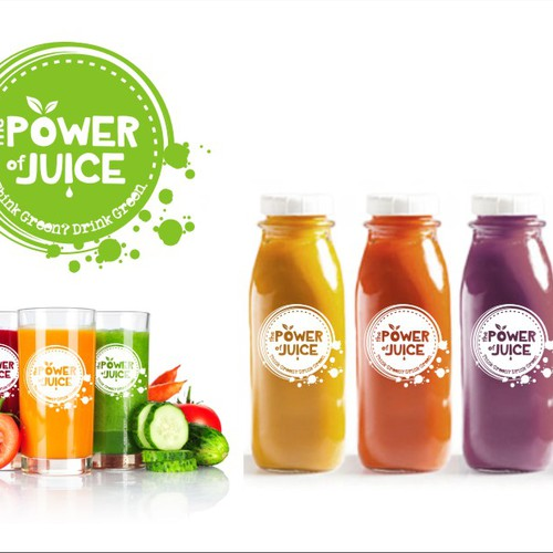 Create a powerful eye grabbing organic juice logo concurso logotipos diseo finalista de nicika2010 malvernweather Gallery
